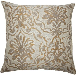 Zain Damask Throw Pillow