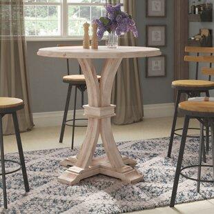 Parfondeval Round Bar Height Dining Table