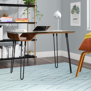 Haysville Glass Writing Desk by Wade Logan