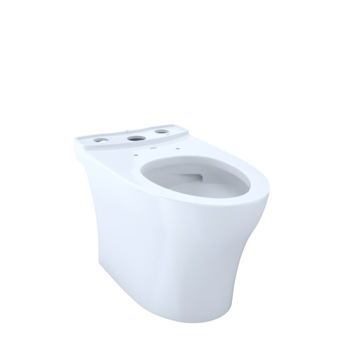 Toto Aquia® IV Elongated Toilet Bowl with High Efficiency Flush ...