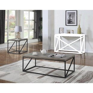 Tobey 2 Piece Coffee Table Set by Gracie Oaks