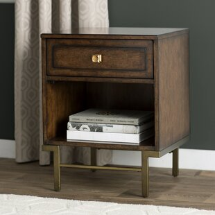 Langley Street Copper Canyon 1 Drawer Nightstand