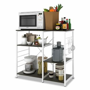 Tarnowski Stand Kitchen Storage Shelves Bar Cart by Ebern Designs