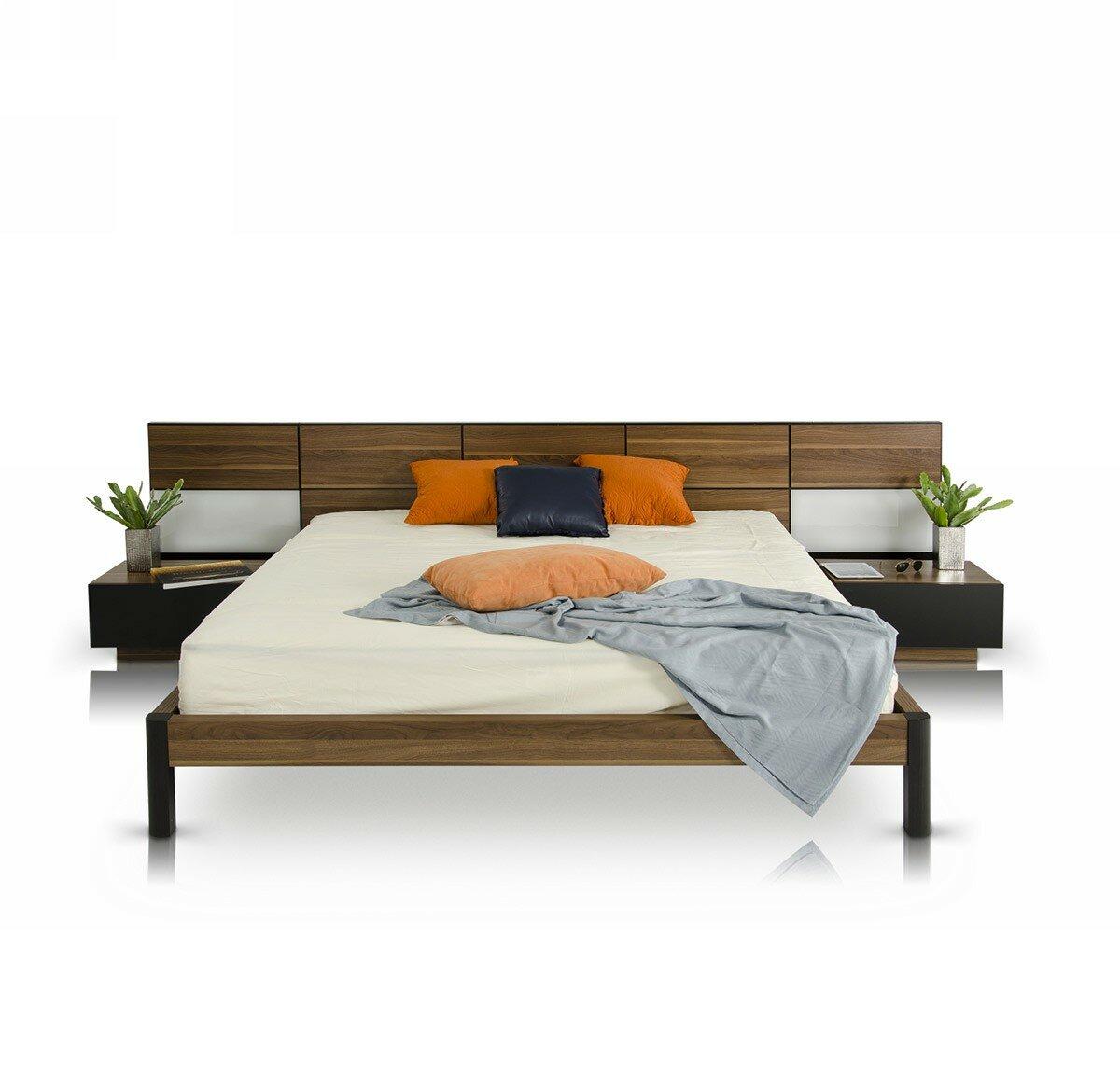Brayden Studio Carstarphen Modern California King Storage Platform Bed Wayfair