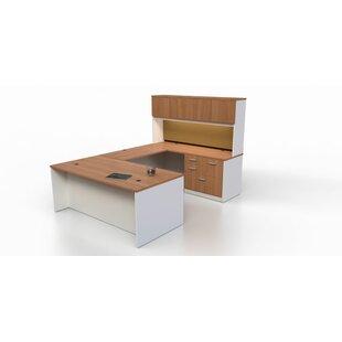 Trendway Intrinsic 4 Piece U-Shape Desk Office Suite