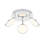 Kasterlee 3-Light LED Ceiling Spotlight