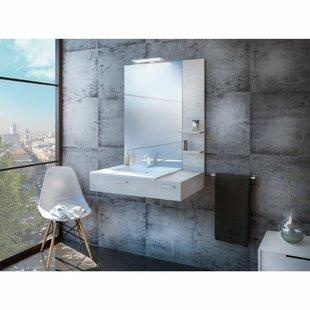Evander 800mm Wall Hung Single Vanity By Belfry Bathroom