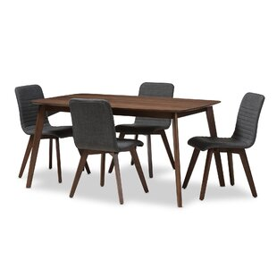 Critchfield 5 Piece Dining Set George Oliver
