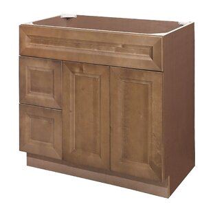 Affordable Price Cottage Birch 42 Single Bathroom Vanity Base Only ByPARRIOTT WOOD