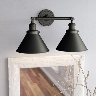 Laurel Foundry Modern Farmhouse Stonecrest 2-Light Vanity Light