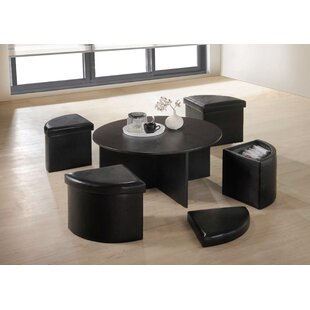Futon Space Saving Modern Coffee Table Set
