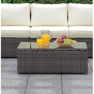 Morrell Patio Coffee Table by Ebern Designs Read Reviews