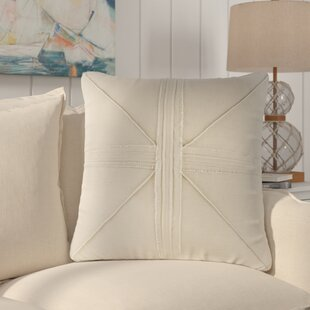 Rafaela Oversized Frayed Linen Throw Pillow
