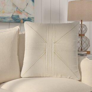 Rafaela Oversized Frayed Linen Throw Pillow