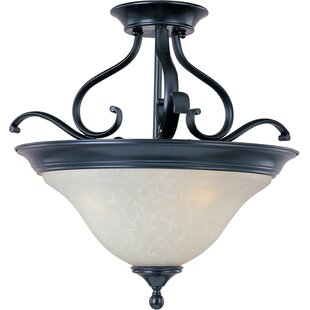 Streator 3-Light Semi-Flush Mo..