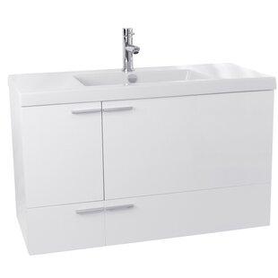 New Space 39 Single Bathroom Vanity Set by Nameeks Vanities