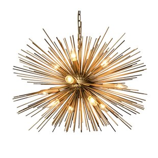 Chandeliers modern contemporary designs allmodern ullman 12 light sputnik chandelier aloadofball Choice Image