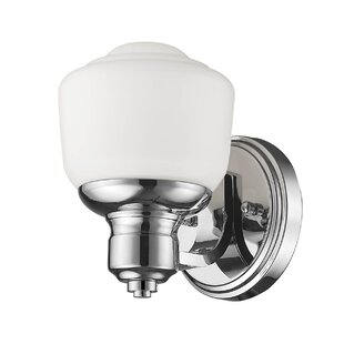Kia 1-Light Armed Sconce by Andover Mills