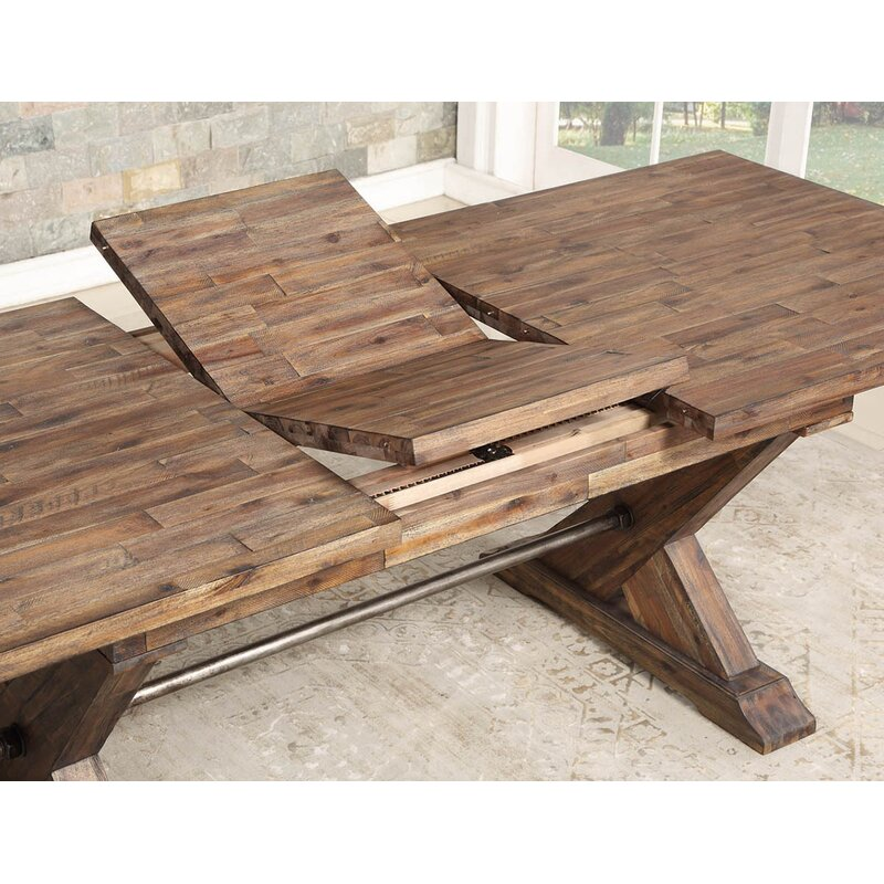 Charmant Weesner Butterfly Leaf Dining Table