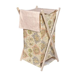 Read Reviews Rosewater Glam Laundry Hamper ByTrend Lab