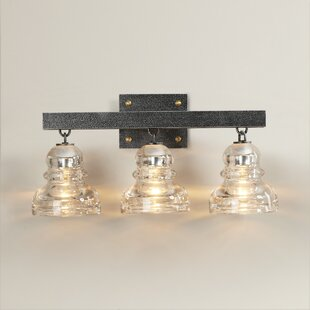 Price comparison Demars 3-Light Vanity Light ByWilliston Forge