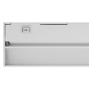 Read Reviews Hardwired Hi/Low/Off  Slim LED 30 Under Cabinet Bar Light By NICOR Lighting