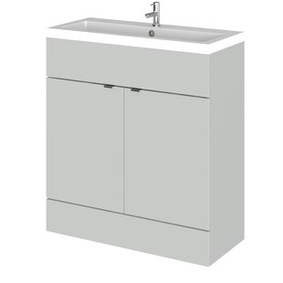 Maddalena 800mm Free-standing Single Vanity Unit By Hudson Reed