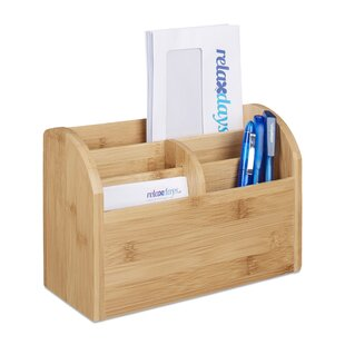Justice Bamboo Desk Organiser By Natur Pur