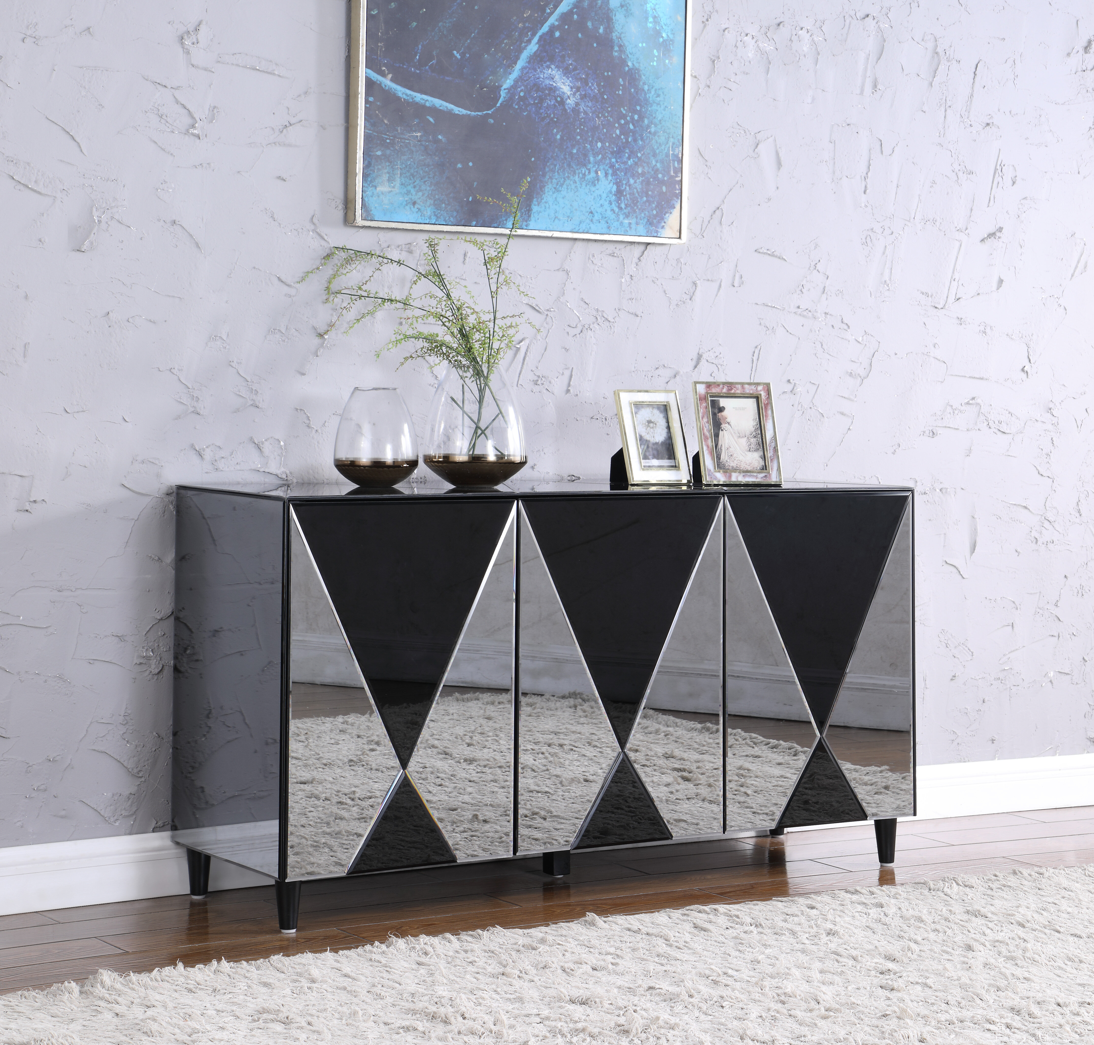 Orren Ellis Westbeth 59 06 Wide Sideboard Wayfair