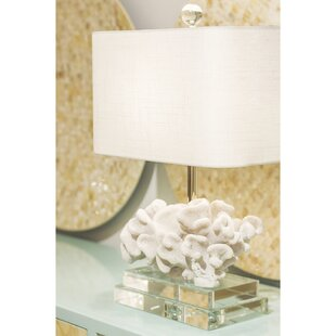 Coastal Retreat Elkhorn Coral 22 Table Lamp
