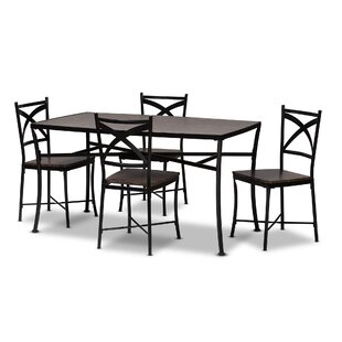 Nailwell 5 Piece Dining Set by August Grove