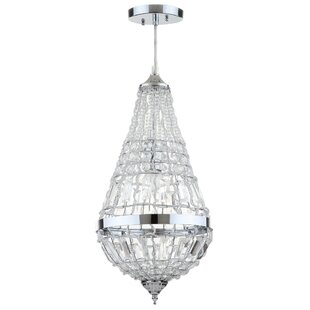 Mercer41 Beaminster Byrd 1-Light Crystal Pendant