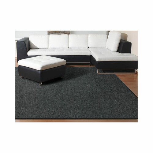 Marcelle Tufted Anthracite Rug Mercury Row Rug Size: Runner