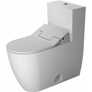 Duravit Me by Starck Elongated One-Piece Toilet (Seat Not Included)