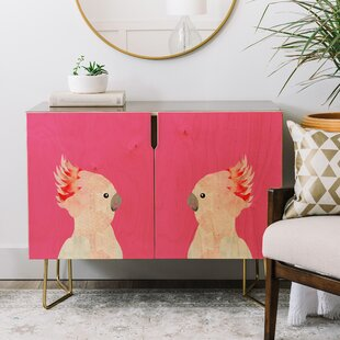 Hello Sayang Hello Polly Credenza by East Urban Home