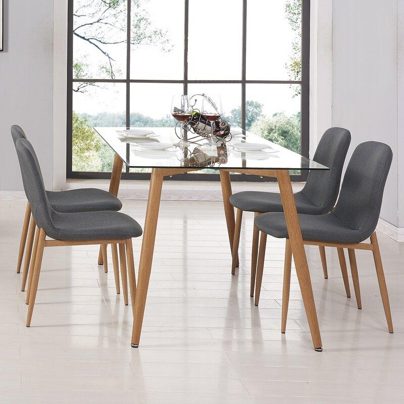 Charming Edgardo Glass Dining Table