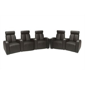 Ambassador Home Theater Lounger (Row of 5) by Bass