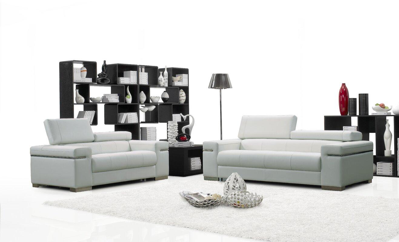 Wade Logan Orlando Configurable Living Room Set & Reviews | Wayfair