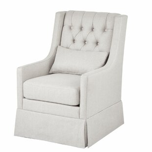 Packer Swivel Wingback Chair