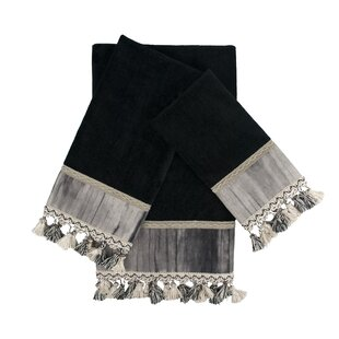 Ambiance 3 Piece Embellished Towel Set by Sherry Kline #2