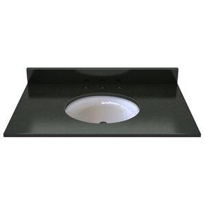 Natural Stone 37  Single Bathroom Vanity TopSingle Vanity Tops You ll Love   Wayfair. D Vontz Natural Marble Vessel Single Sink Bathroom Vanity Top. Home Design Ideas