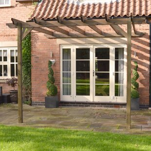 Pollitt Lean Pergola By Sol 72 Outdoor