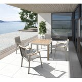 Braylock 5 Piece Teak Dining Set