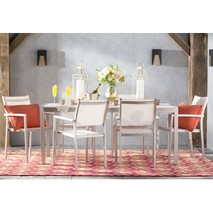 Alaia 7 Piece Dining Set by Willa Arlo Interiors
