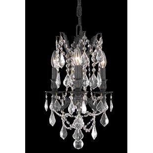 Astoria Grand Utica 3-Light Candle Style ..