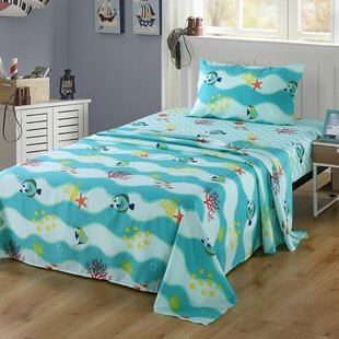 Burg Bed Animal Print Sheet Set