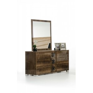 Fruge 3 Drawer Standard Dresser by Orren Ellis