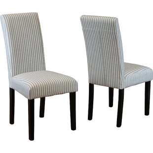 Lemelle Parsons Chair (Set of 2) (Set of 2) by One Allium Way