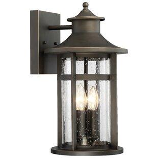 Longshore Tides Mariam 4-Light Outdoor Wall Lantern