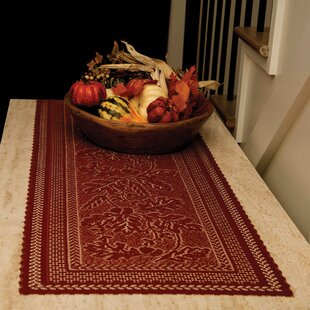 Shireen Oak Leaf Runner